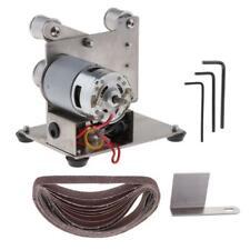 Mini Electric Belt Sander DIY Set Polishing Machine Abrasive Tool -15mm