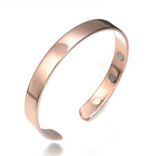 Bio Healing Copper Magnetic Therapy Bracelet Arthritis Pain Relief Bangle