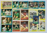 (17) JOSE CANSECO 1986 Donruss Highlights Rated Rookie Topps RC Card LOT