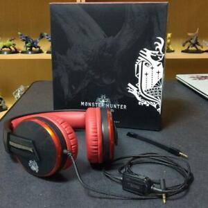 HORI MONSTER HUNTER WORLD LIOLAEUS Headphone Set Capcom Limited For Sony PS4 JP