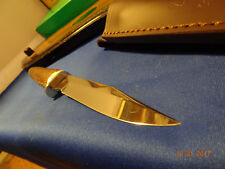 "HEN & ROOSTER HR5011 9 1/2"" STAG HANDLE FIXED BLADE KNIFE SUPER SHARP GERMAN SS"