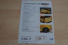 95251) Fiat Panda Racing Prospekt 11/2005