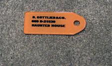 Gottlieb HAUNTED HOUSE Pinball Machine KEY FOB ORANGE