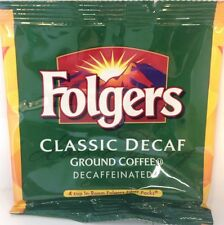 Folgers Classic Decaffeinated Ground Coffee 4cup In-Room Filter Packs Box Of 200