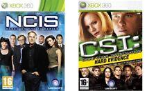 NCIS & CSI evidencia clara Xbox 360 Formato PAL