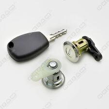Serrure de porte Set 1 Clé + 2 barils avant droit et gauche pour RENAULT Clio Extra