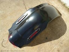 """4"""" STRETCHED REAR FENDER COVER W AL LIGHT LED 4 HARLEY TOURING ROAD KING 97-08"""