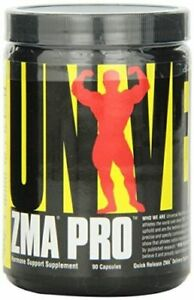 Universal Nutrition ZMA PRO 180 Capsules Testosterone Booster, ZMA Pro, with B6