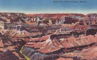 Linen Postcard A524 Hopi Point Grand Canyon National Park Arizona Cancel 1971