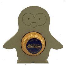 18mm mdf Penguin Chocolate Orange Holder, Engraved Face - Wooden Craft Blank