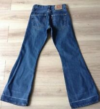 LEVI'S 516 JEANS BOOTCUT SIZE 29 x 32 MADE IN SOUTH AFRICA HEM LINES SEE PICS