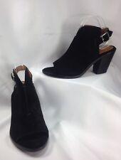 Frye Courtney Sling Women Shoes Peep Toe Mule Pumps Suede MISMATCH R 10 L 9 M