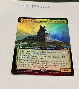 Magic the Gathering MTG Rin and Seri, Inseparable x1 Mythic FOIL Card EX Promo