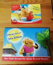 Ü - Ei Strandnasen 3D-Postkarte und Klappdiorama