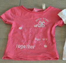 2331 - T-shirt MC 3 ans OKAIDI rose SPORT