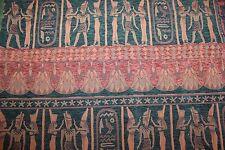 "Tissu vintage neuf, tissu tapisserie "" Egypte "" larg 140 cm x H 65 cm"