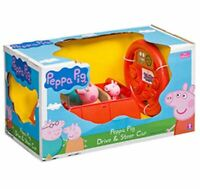 Peppa Pig Drive And Steer Remote Control Red Car - BRAND NEW