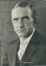 1921 Newark Ohio Mayor H H Scott Press Photo