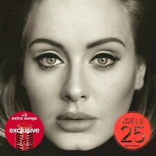 ADELE 25 Target EXCLUSIVE CD w/ 3 Bonus Tracks SEALED NEW Free Shipping! Hello