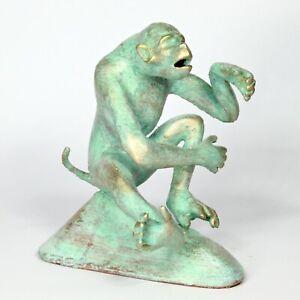 "Sculpture ""Planet of the Apes - Politicians 1"" unique Andreas Loeschner-Gornau"