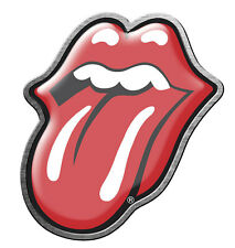 ROLLING STONES METALL PIN # 14 ANSTECKER BADGE BUTTON CLASSIC RED TONGUE