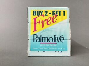 Vintage Palmolive Bar Soap Gentle Skin Care 3 Pack 4.75oz  / 14.25oz Total NOS