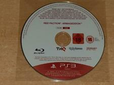 Red Faction Armageddon PS3 Playstation 3 Rare Promo Disc Full Game