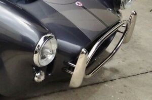 Over riders / Overriders for AC Cobra , Polished Stainless Steel