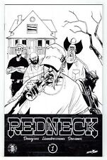 Image Comics 25th Anniversary - REDNECK 1 - B&W Variant Cover Black and White NM