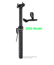 Brand-X Ascend II Dropper Seatpost External 150mm rrp £139.99. New 2020 model