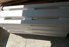 Panca con Pallet Bancali EUR  EPAL arredamento 120x40 bianca o colorata