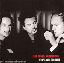 FUN LOVIN' CRIMINALS - 100% Colombian (UK 13 Trk CD Album)