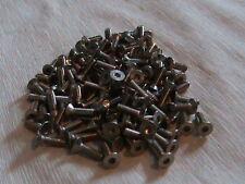 M3 x 10 mm A2 Stainless Steel Socket Countersunk Screw Allen Key Head Din 7991