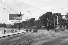 Early 1900s Photo reprint: Swampscott's Monument Square