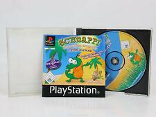 Sony Playstation 1 PS1 PAL OVP Schnappi 3 Fun Games Komplett