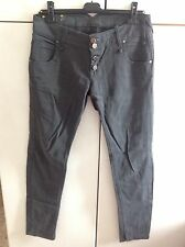 Jeans Noaut 44 Grigio Made In Italy Skinny Slim As Liu Pantalone Pinko Miss Rock