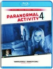 paranormal activity 4  NEW BLU-RAY  NEW AND SEALED.
