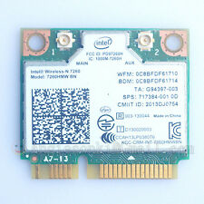 HP COMPAQ 717384-001 INTEL WIRELESS N CARD 7260HMW-BN 300Mpbs WLAN+BT 4.0 combo