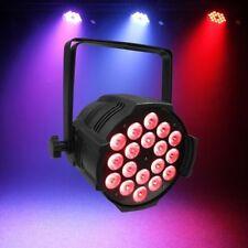 4pcs 18x18W 6-In-1 rgbwa uv LED Par Fixture 10CH party DJ Stage par  lighting