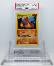 Pokemon STORMFRONT CHARMELEON #102/100 SECRET RARE HOLO PSA 8 NEAR MINT #*