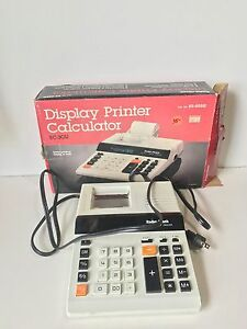 DISPLAY PRINTER CALCULATOR EC-3011