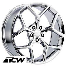 "20 inch 20x9"" / 20x10"" Chevy Camaro Z28 OE Factory Replica Chrome Wheels Rims"