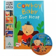 Cowboy Baby Book and DVD Sue Heap Paperback