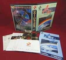 Sharp X68000  - A-jax -  Ajax - Konami 1989
