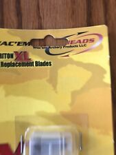 Wac Em Broadhead Triton 9 Replacement Blades Ships N 24h