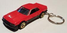 Hotwheels nissan skyline R30 keyring diecast car