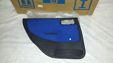 Original GM Türverkleidung HINTEN LINKS Rear LEFT door trim panel ultra blue