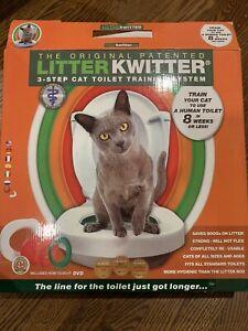 LITTER KWITTER Cat Toilet Training System--LK-1-
