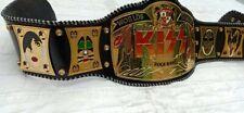 World Greatest kiss Rock Band Replica Championship Belt, Adult Size. 4mm Zinc.