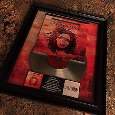 Miseducation Lauryn Hill Platinum Record Album Disc Music Award MTV Grammy RIAA